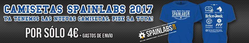 Camisetas Spainlabs.com 2016